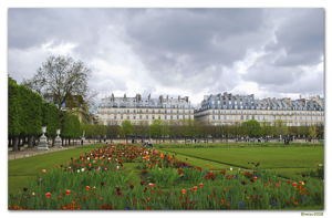 Tuileries Gardens, Paris, France, garden design