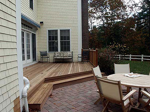 DECKS - THE HOME TO PATIO CONNECTION
