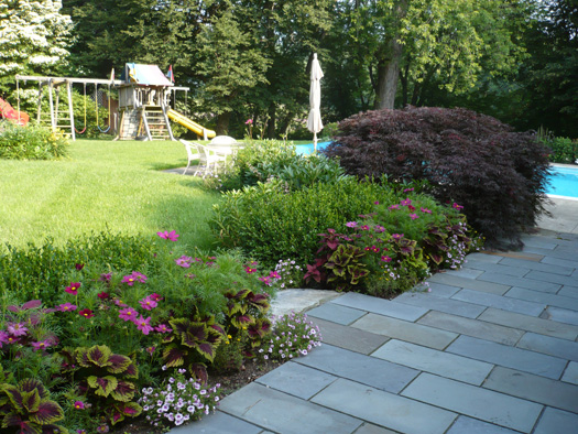 ANNUAL GARDENS - POCKET GARDENS IN PATIO DESIGN