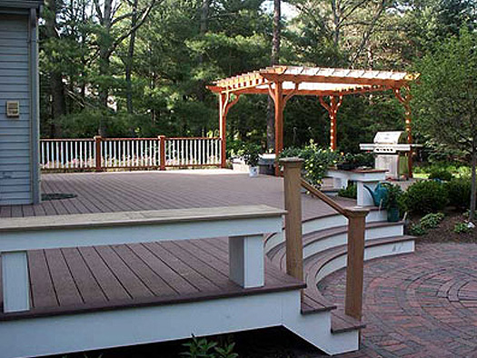 DECKS - MAXIMIZE OUTDOOR LIVING & GARDEN BEAUTY WITH A PERGOLA