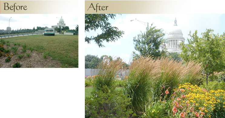 Commercial Landscape Project One: - Altus Center ... Extreme Makeover Home Edition Before And After Interior