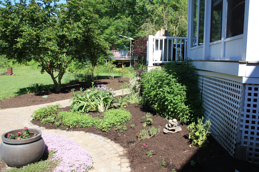 After-weeding-mulching