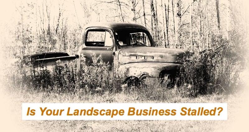 landscape business stalled