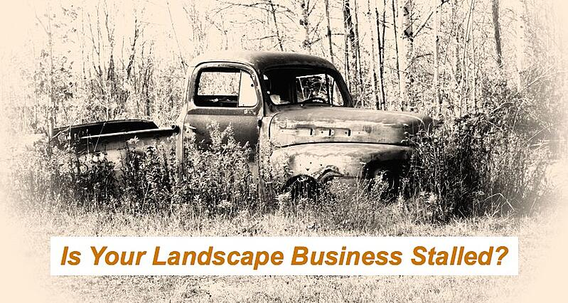 landscape business stalled
