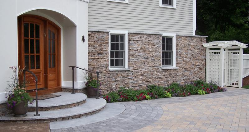 front entryway landscape design