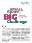 Small space big challenge