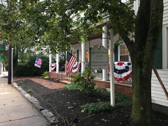 festive front yard